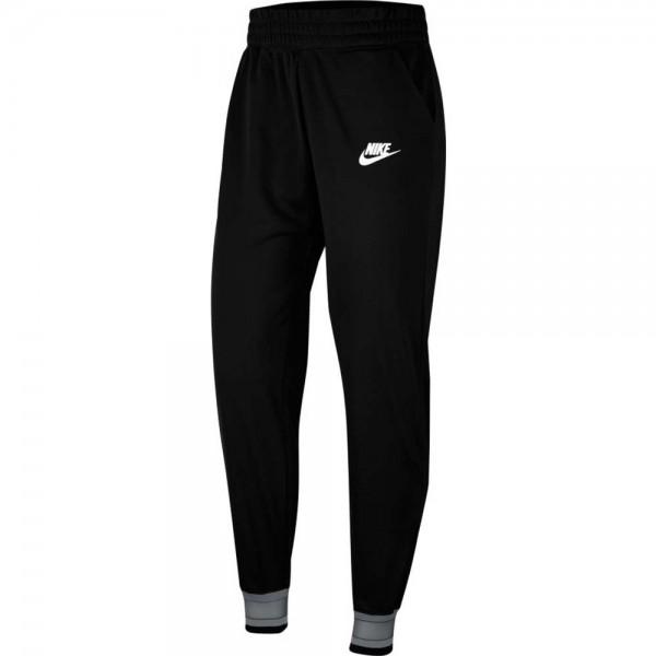 Nike Damen Sportswear Heritage Jogginghose Trainingshose schwarz-grau-weiß