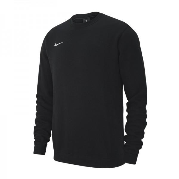 Nike Herren Team Club 19 Crew Sweatshirt Pullover schwarz-weiß