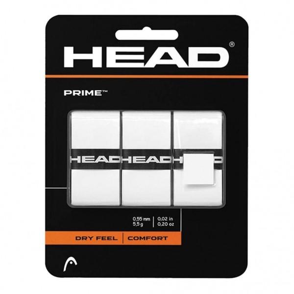 HEAD Prime Overgrip 3er weiß