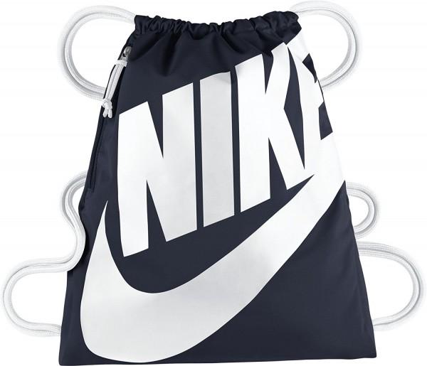 073934a166d32 Nike Turnbeutel Tasche Rucksack Heritage Gymsack blau