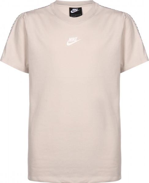 Nike Kinder Repeat T-Shirt Freizeitshirt beige