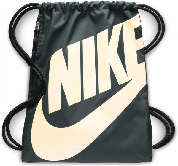 10142a4d5f1c5 Nike Turnbeutel Tasche Rucksack Heritage Gymsack grün