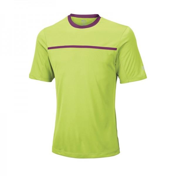 Wilson Team Crew T-shirt Herren Grün