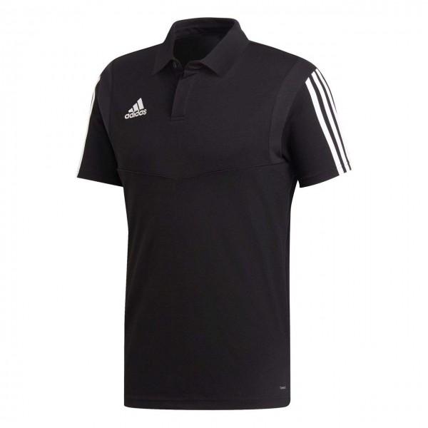 Adidas Herren Poloshirt Tiro 19 schwarz & weiß