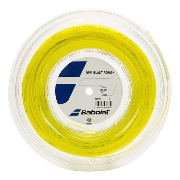 Babolat RPM Blast Rough Tennis Saitenrolle 200 Meter gelb