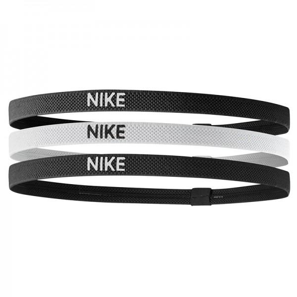Nike Herren Elastic Haarband 3er Pack schwarz-weiß