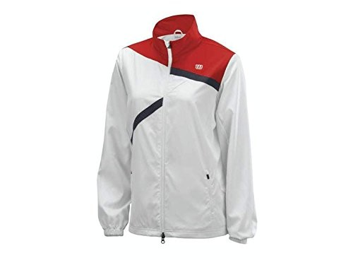 Trainingsjacke Wilson Rush Team Jacket weiss Women