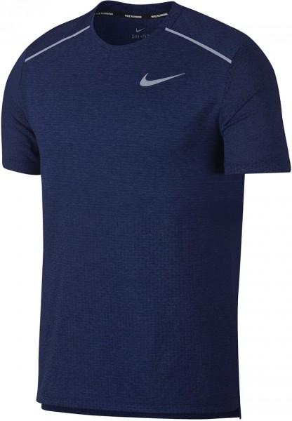 Nike Herren Breathe Rise 365 T-Shirt blau