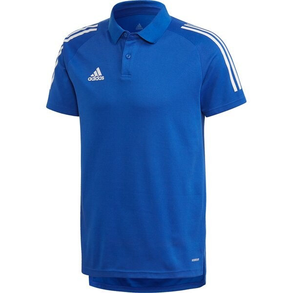 Adidas Herren Condivo 20 Poloshirt blau-weiß