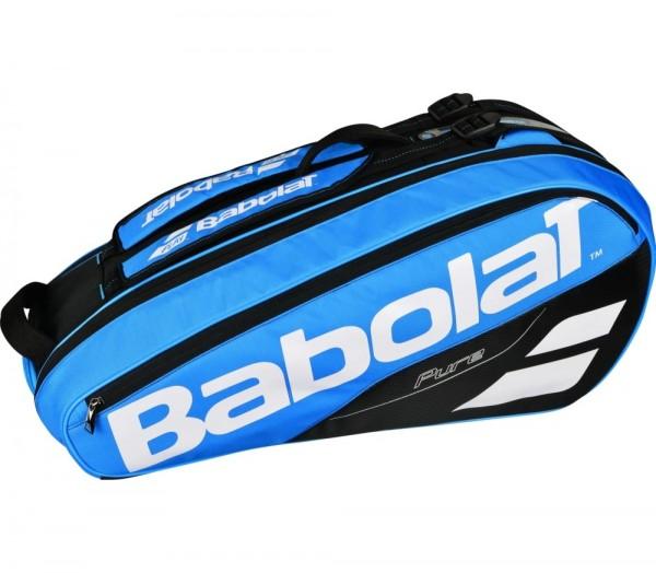 Babolat Pure Drive Racket Holder X6 Tennistasche Schlägertasche blau-weiß