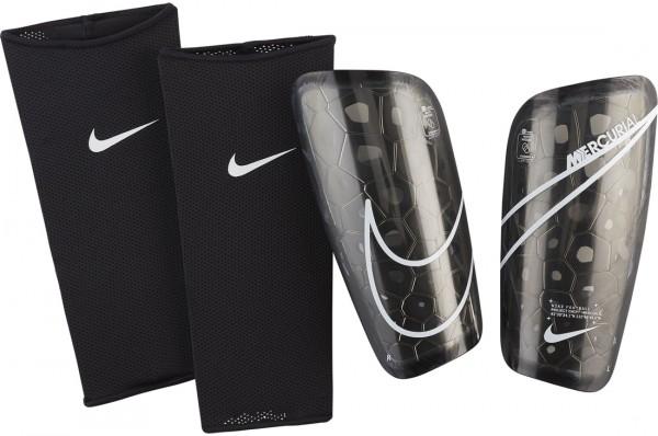 Nike Mercurial Lite Schienbeinschoner schwarz-weiß