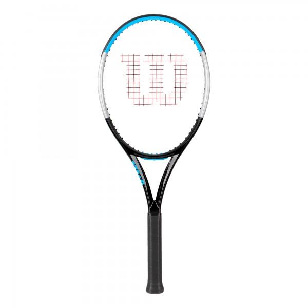 Wilson Ultra 100L V3.0 Tennisschläger schwarz-blau-grau