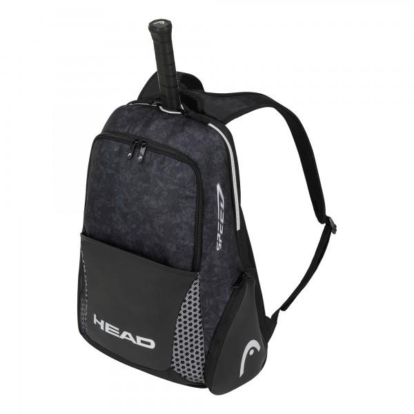 Head Djokovic Backpack Tennis Rucksack schwarz-weiß