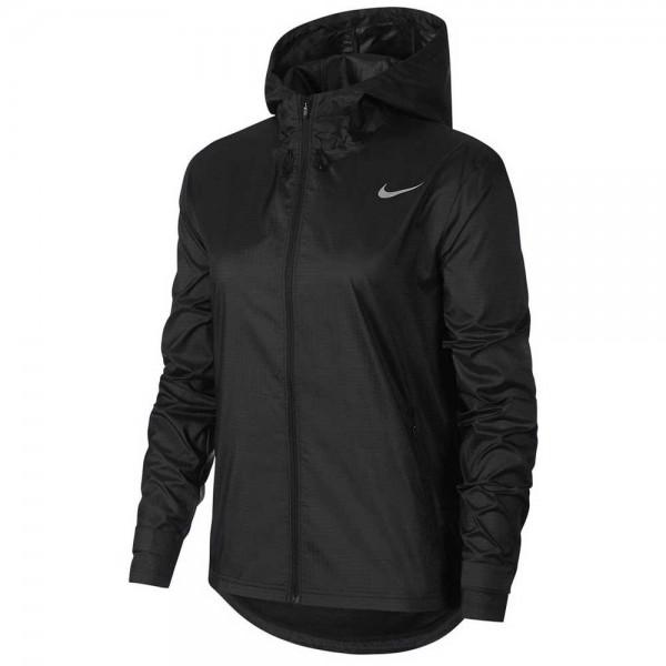Nike Damen Essential Laufjacke Trainingsjacke schwarz
