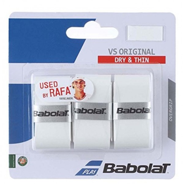 Babolat Overgrip VS Original Griffband 3er weiß