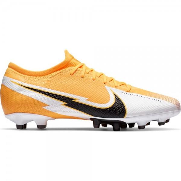 Nike Herren Mercurial Vapor 13 Pro AG Fußballschuh orange-weiß-schwarz
