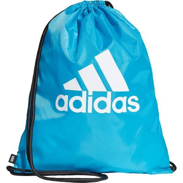 Adidas Gymsack Sportbeutel hellblau-weiß