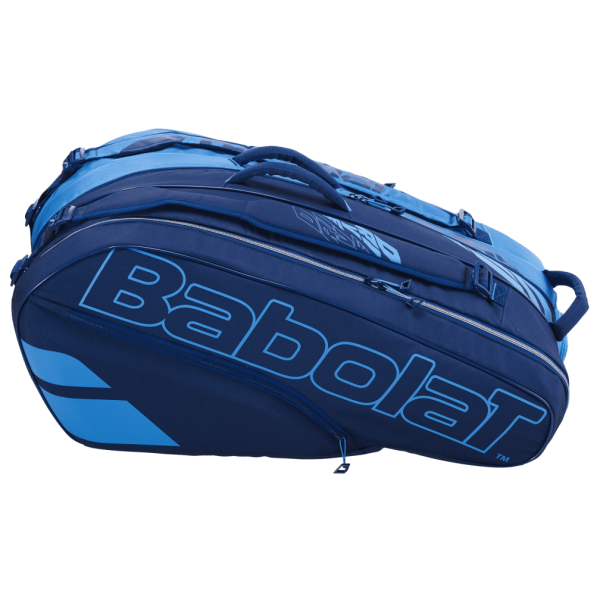 Babolat Pure Drive Racket Holder X12 Tennis Tasche blau