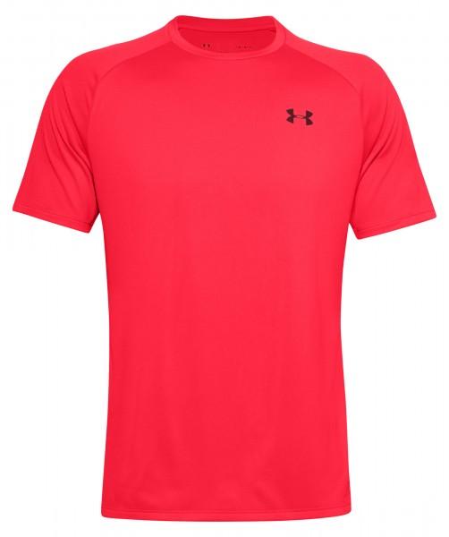 Under Armour Herren Tech 2.0 T-Shirt Trainingsshirt beta-cordova