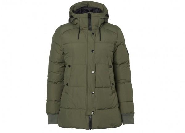 Suche nach Beamten Wählen Sie für späteste heißer verkauf billig North Bend Damen Puff Jacke dunkelgrün