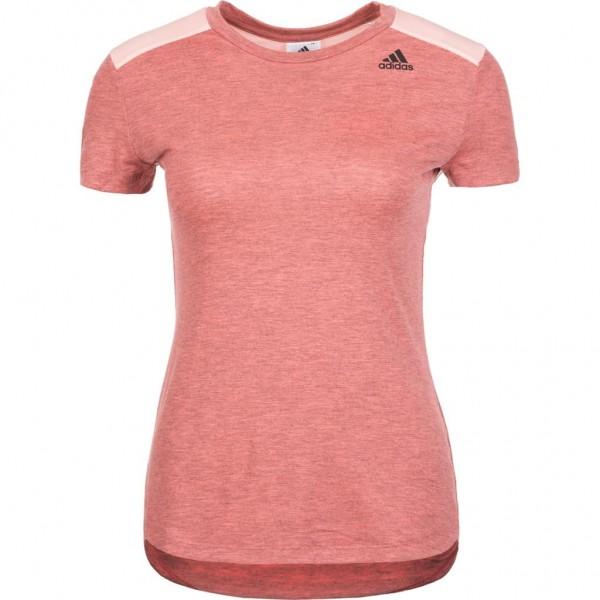 Adidas Damen Prime Tee Trainingsshirt Fitnessshirt cleora