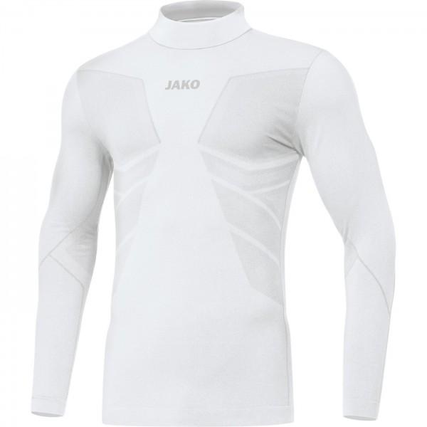 Jako Kinder Turtleneck Comfort 2.0 Underwear Funktionsshirt weiß