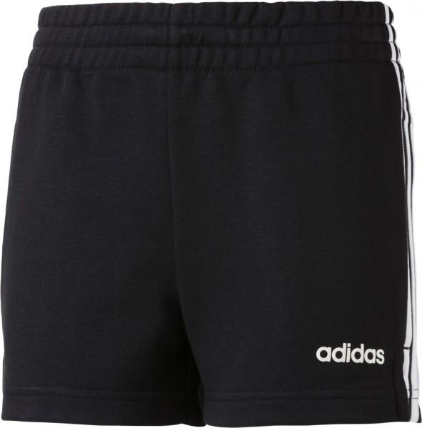 Adidas Kinder Shorts 3 Streifen schwarz/weiß