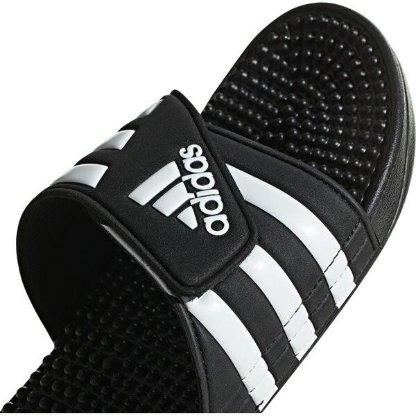 Adidas Herren Adissage Badelatschen schwarz