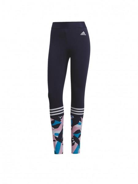 Adidas Damen SID Sport Leggings Tight dunkelblau