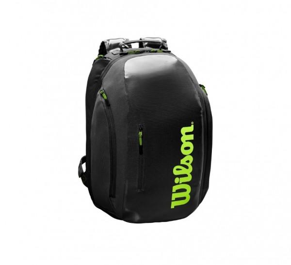Wilson Tennis Rucksack Super Tour Backpack schwarz/grün 2020