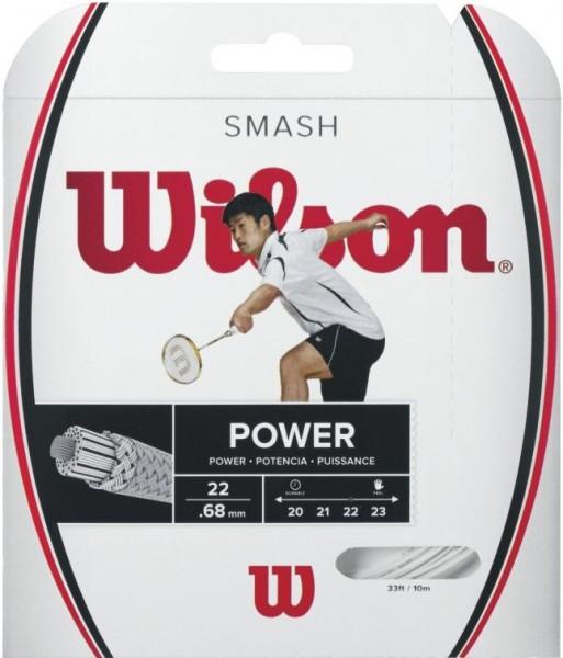 Wilson Smash 66 Badmintonsaite 10m weiß