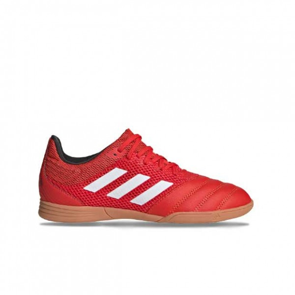 Adidas Kinder Copa 20.3 In Sala Fußballschuh rot-weiß