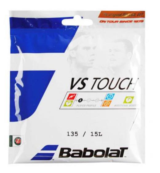 Babolat VS Touch Naturdarm Saite 135/15 L Natural 12m