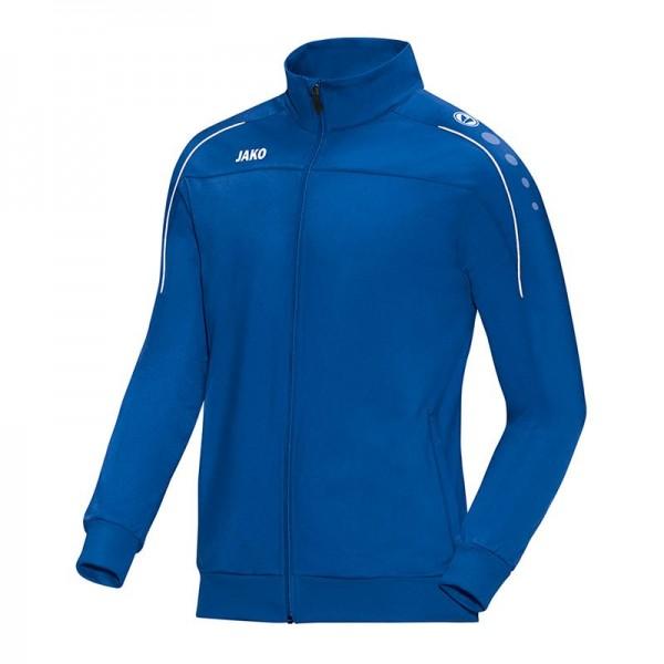 Jako Herren Classico Polyesterjacke Trainingsjacke blau-weiß