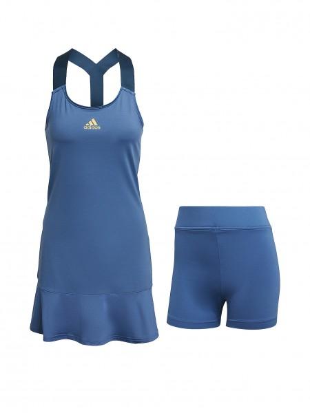 Adidas Damen Y-Dress Tenniskleid blau
