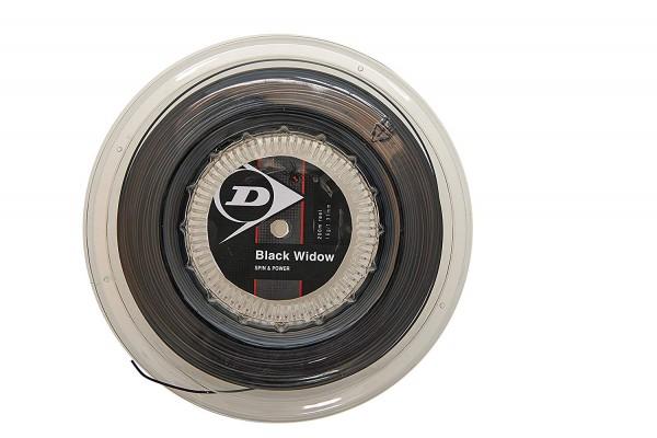 Dunlop Black Widow 200m Tennissaite Durchmesser 1,31 mm