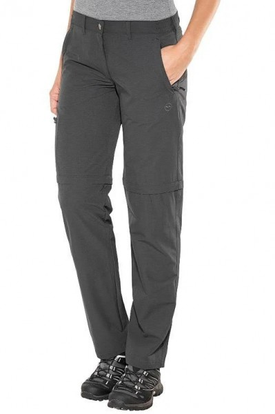High Colorado Damen Chur 3 Trekkinghose Outdoorhose zip off grau/anthrazit