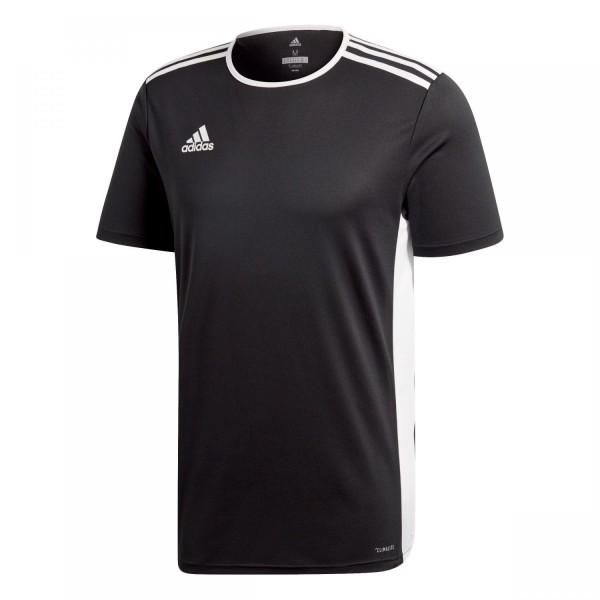 Adidas Herren Entrada 18 Fußball Trikot schwarz-weiß