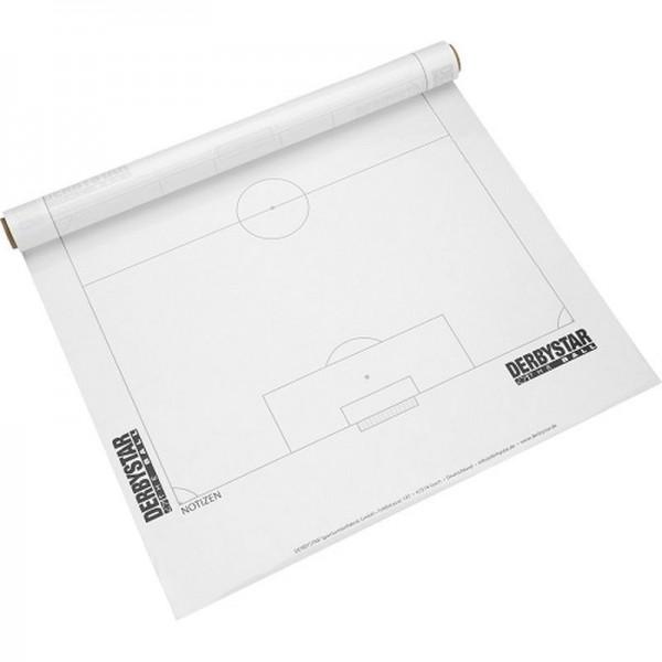 Derbystar Fußball Spielplanfolie weiß 61 x 80 cm