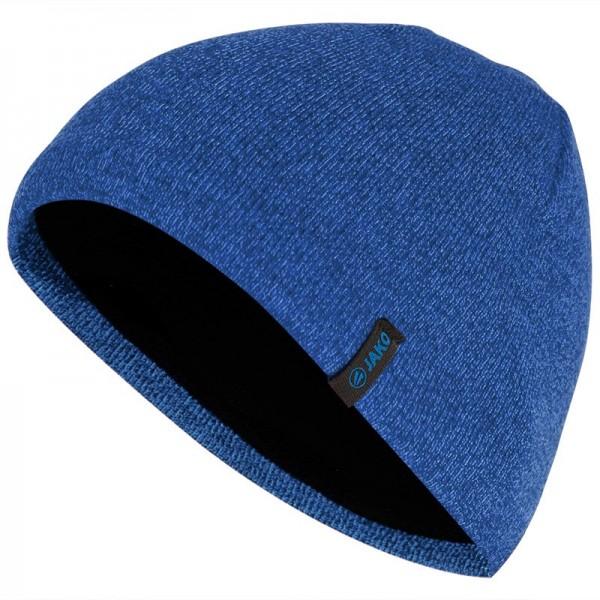 Jako Strickmütze Senior blau