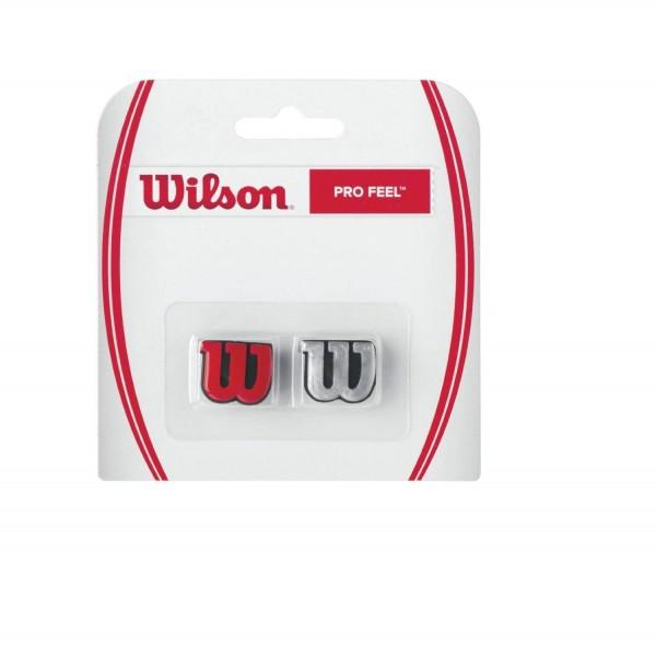 Wilson Pro Feel Vibrationsdämpfer Silber/Rot