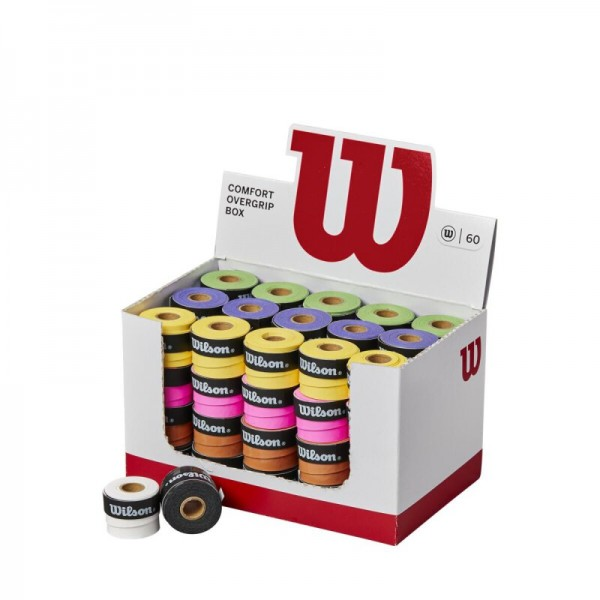 Wilson Ultra Overgrip Griffbänder 60er Box mehrfarbig