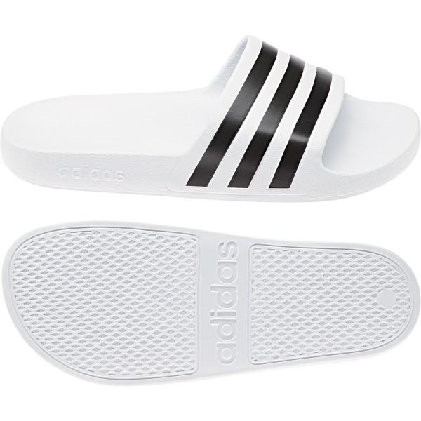 Adidas Badeschuhe Adilette Aqua weiß