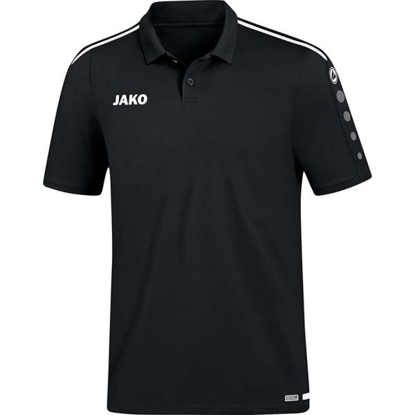 Jako Herren Striker 2.0 Poloshirt schwarz-weiß