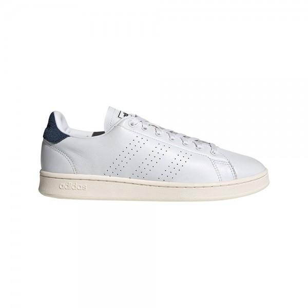 Adidas Herren Advantage Sneaker Freizeitschuh weiß