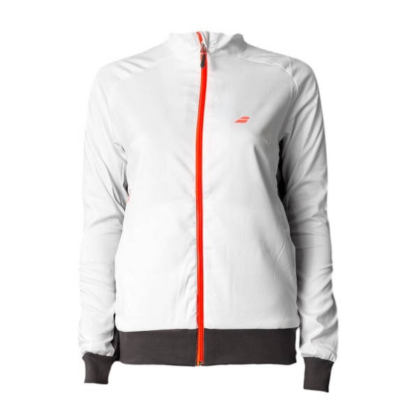 Babolat Core Club Trainingsjacke Gr xs Damen weiss