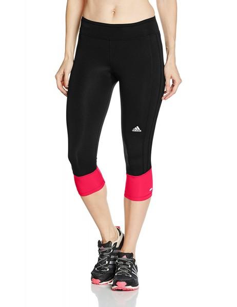Adidas Damen Leggings RS 3/4 Tight schwarz-rot