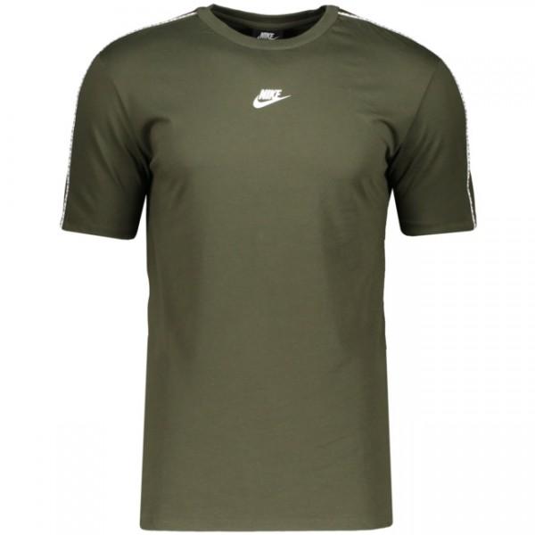 Nike Herren Sportswear Repeat Top T-Shirt khaki