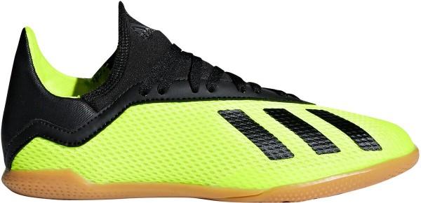 Adidas Kinder X Tango IN Fußball Hallenschuh neon gelb-schwarz