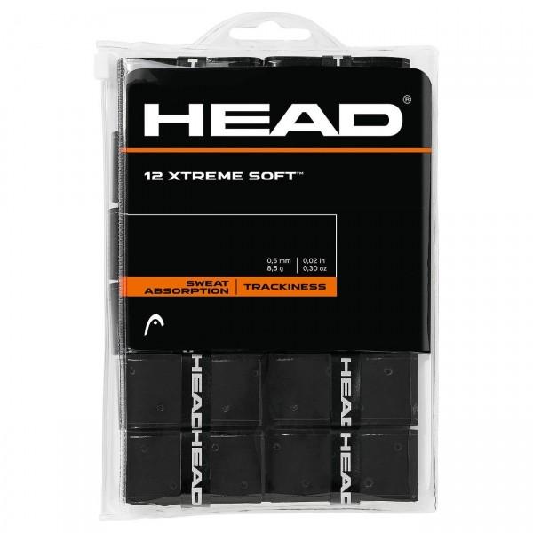 Head Xtreme Soft 12er Overgrip Griffbänder schwarz